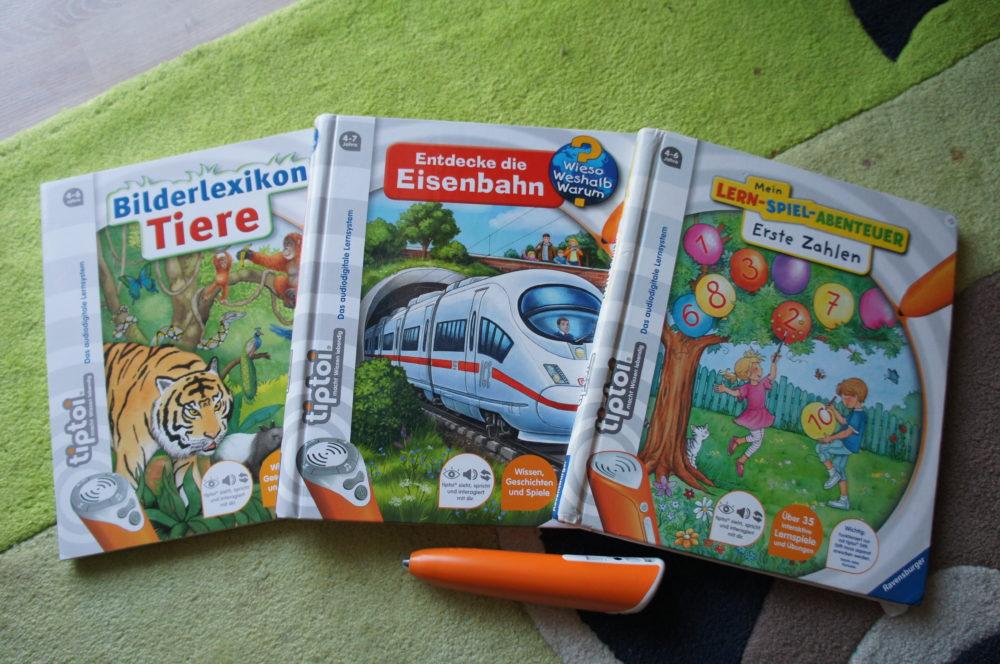 tiptoi Bücher Tiere Eisenbahn Zahlen