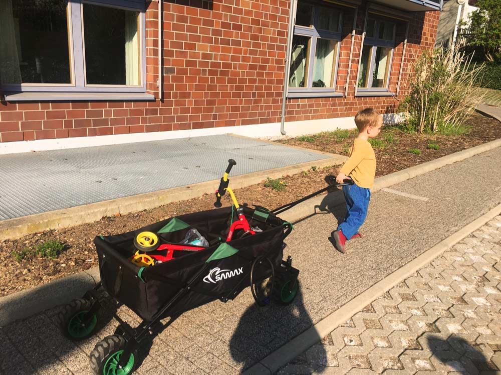 Bollerwagen Handwagen Gartenwagen SAMAX