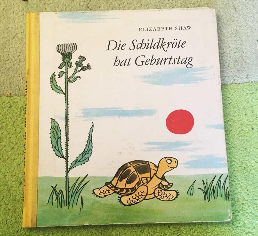 besten Bücher für Kinder ab 3 Jahre Die Schildkröte hat Geburtstag