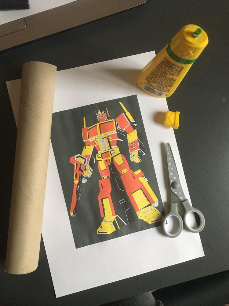 DIY Puzzles: Material Übersicht zum basteln eines Stapelpuzzles.