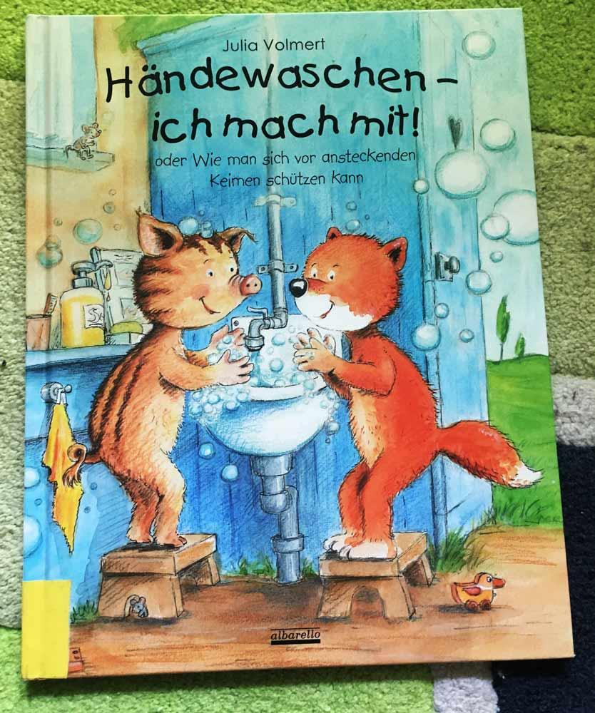besten Bücher für Kinder ab 3 Jahre Händewaschen