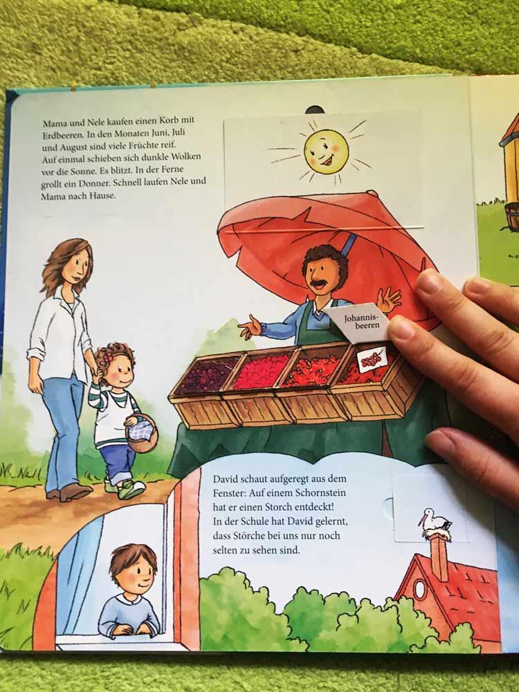 besten Bücher für Kinder ab 3 Jahre Mit Nele durch die Jahreszeiten